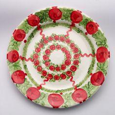 uta Decorative Plates, Tableware, Design, Home Decor, Red, Green, Tablewares, Dinnerware, Decoration Home