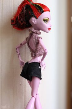 Knit tops for Monster High doll | Flickr - Photo Sharing!