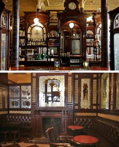 The Princess Louise, High Holborn. One of the many Samuel Smith Brewery pubs in London.