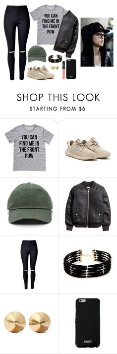 """""""Supporting Mark at his concert"""" by got7outfits ❤ liked on Polyvore featuring WithChic, Forever 21, Eddie Borgo, Givenchy and NARS Cosmetics"""