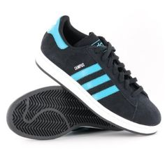 Adidas Campus II Black Mens Trainers: Amazon.co.uk: Shoes \u0026 Bags