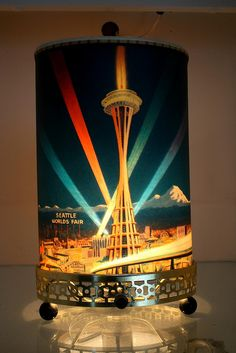 Seattle Worlds Fair motion lamp by gtykal, via Flickr  Oh I want it!