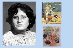 Helena Križanová-Brindzová bola autorkou diel pre deti a mládež Signs, Cover, Books, Libros, Shop Signs, Book, Book Illustrations, Sign, Libri