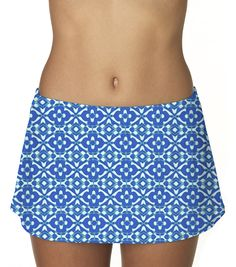 Suit Yourself's > Bottoms > Sunsets > Contemporary Swim Skirt - 600789924858   Suit Yourself
