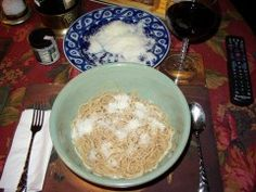 Amuse Bouche: Bavette Cacio e pepe or Linguini with 2 cheeses More
