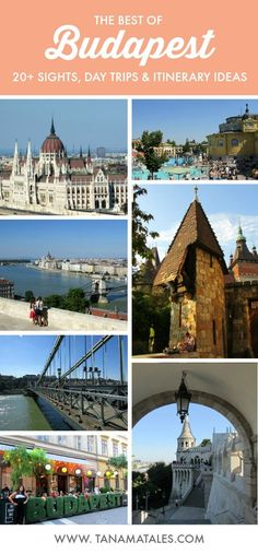 Things to do in Budapest, Hungary - Want to stop by a city full of gorgeous architecture, delicious food and amazing views? Go to Budapest! To make things easy, I have compiled the best tips and tricks to make the most out of a visit to the city. This guide covers the top sights, itineraries and day trips. #traveldestinations