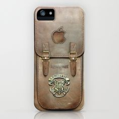 Even I'm not this much of a nerd. I-Hogwarts ....Bag Iphone case (alumni wizards only) iPhone Case