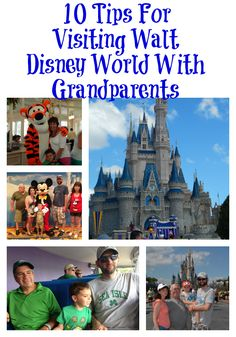 10 Tips For Visiting Walt Disney World with Grandparents | There's No Wine in Mom