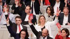 SPD-Parteitag im Ticker-Protokoll: Wahl-Krimi mit knappem Ausgang! SPD stimmt für Koalitionsverhandlungen mit der Union