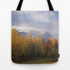Cades Cove Autumn Tote Bag by Tennessee Backroads