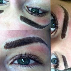 The now world famous Million Dollar Signature Eyebrows by Mary Spence at Million Dollar Brows Glasgow Scotland
