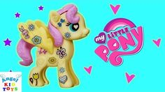 My Little Pony  Fluttershy Cottage Decorator Kit Play Doh Surprise Eggs