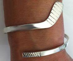 Wrap Bracelet: Lg Ice Hockey Stick
