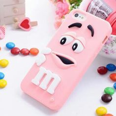 Pink candy iPhone case