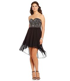 7fe35077e75b Available at Dillards.com #Dillards Homecoming Queen, Homecoming Dresses,  Hi Low Dresses