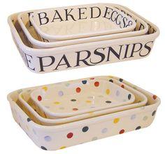 Emma Bridgewater Rectangular Bakers want the parsnips!