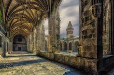 El claustro de la catedral - Salud ;)