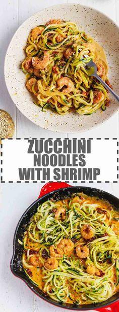 Fettuccine Recipes, Creamy Pasta Recipes, Vegetarian Pasta Recipes, Zoodle Recipes, Chicken Pasta Recipes, Shrimp Recipes, Sauce Recipes, Sundried Tomato Pasta, Sun Dried Tomato Sauce