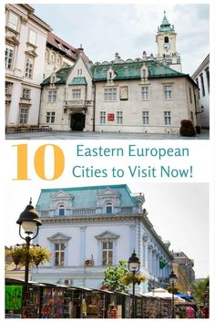 Not sure where to go in Europe? We've listed some lesser known and beautiful capital cities in Eastern Europe that we think you will love. Click here to start your travel planning!
