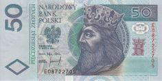 50 Zlotych Currency of Poland Polish banknotes 50 Zlotych note issued by the NBP National Bank of Poland - Narodowy Ban. Small Letters, Amazing Race, Little Flowers, Poland, Old School, Pictures, Banknote, King, Google Search