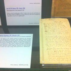 (E) Un manuscrit de Rimbaud à l'expo J. Kerouac #UneSource