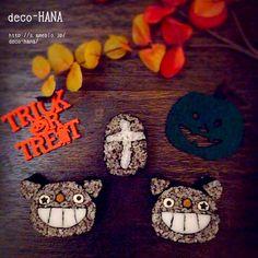『ハロウィン黒猫の飾り巻き寿司』  デコ巻き/ハロウィン/黒猫  余ったごはんでお墓も作ってみました(●´∪`)  ブログはこちら↓ http://s.ameblo.jp/deco-hana/entry-12081290578.html