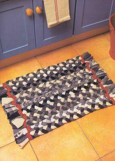 Домотканые коврики своими руками мастер класс