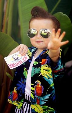 Ace Ventura Kids Halloween Costume! Hilarious! He is just the cutest!!! by MyohoDane