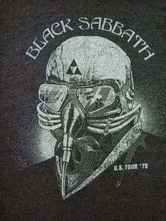 Black Sabbath -U.S.tour 1978