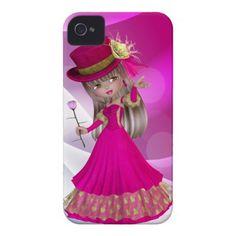 Blond Princess iPhone Case iPhone 4 Case-Mate Case