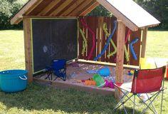 Ideas Backyard Kids Play Area Diy Outdoor Fun For 2019 Outdoor Play Spaces, Kids Outdoor Play, Kids Play Area, Backyard For Kids, Outdoor Fun, Diy For Kids, Cozy Backyard, Backyard House, Play Area Outside