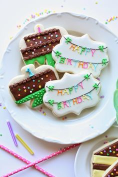 """Munchkin Munchies: Birthday Cookies and a """"Decorating Cookies Party"""" {by Bridget Edwards} Book Giveaway!"""
