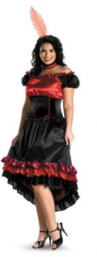 Women's Can Can Costume