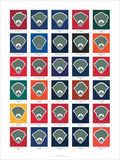130d7c6a475 The  Century of Ballparks  Poster measures 18