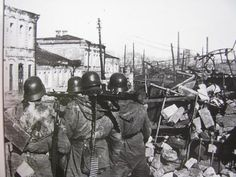 Kharkov, 1943...the city, the most populous of those taken by Germany in the SU, saw three major battles with each exchanging occupation by the Reds or Germans