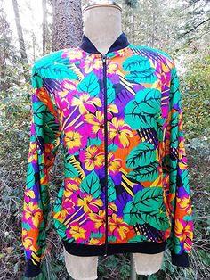 Vintage jacket, Adidas jacket, old school, warm up jacket, 1980s jacket, vintage clothing, medium