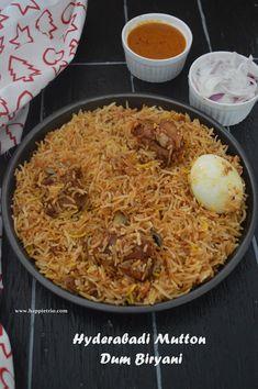 Veg Recipes, Side Dish Recipes, Indian Food Recipes, Indian Foods, Cooking Recipes, Hyderabadi Biryani Recipe, Dum Biryani, Briyani Recipe, Rice Dishes