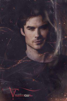 Ian - Damon - Vampire Diaries - TVD Season 5