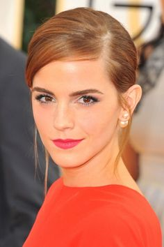 Emma Watson Adds An Auburn Tinge To Her Brunette 'Do