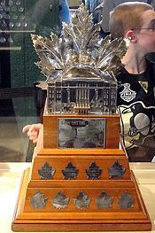 Conn Smythe Trophy Awarded to the most valuable player in the NHL Stanley Cup Finals