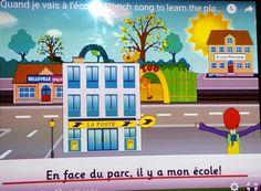 Martes 16 de febrero, en clase de francés hemos aprendido como llegar a un lugar determinado.