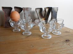 Set+of+4+vintage+french+egg+cups, £16.00