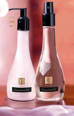 Um hidratante inspirado no glamour e na sofisticação da seda, que deixam na pele um toque sedoso e perfumado. Um body mist com a mesma fragrância, que prolonga a sensação de glamour o dia todo. R$59.90