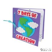 Fun Express Color Your Own Book About The 7 Days of Creation Craft Kit (Makes Craft Kits Felt Kits Flower Pressing Jewelry Mosaics Paint with Water Kits Paint-By-Number Kits Paper Craft Sand Art Scrapbooking Sewing Wood Stickers 7 Days Of Creation, Creation Bible, Creation Crafts, Sunday School Lessons, Sunday School Crafts, Lessons For Kids, Bible Lessons, Object Lessons, Creation Coloring Pages