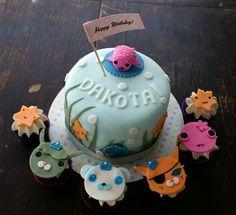 Meomi cake & cupcakes #cute #kawaii #food