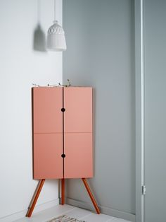 IKEA Fan Favorite: IKEA PS 2014 corner cabinet. This fan fave takes little space but gives plenty of practical storage as this cabinet fits snugly in tight corners.