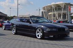 Zoom out E36 Cabrio, Bmw Black, Bmw Sport, Bmw 3 Series, Bmw E36, Dream Cars, Wheels, Heaven, Drop