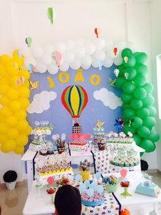 1 ano do João - balão!!