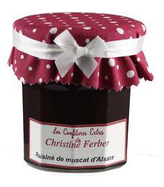 Muskat-Trauben-Gelee , Raisiné de Muscat d'Alsace, Christine Ferber Confitures | Vincent Becker
