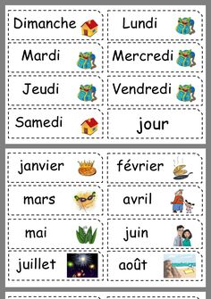 French Language Lessons, French Lessons, Les Adjectifs Possessifs, Learning French For Kids, French Worksheets, Maila, Classroom Organisation, Montessori Materials, Kids Prints